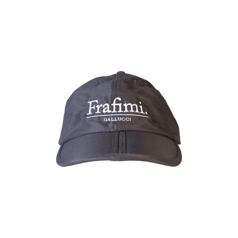 Foldable Cap – Grey (Front)